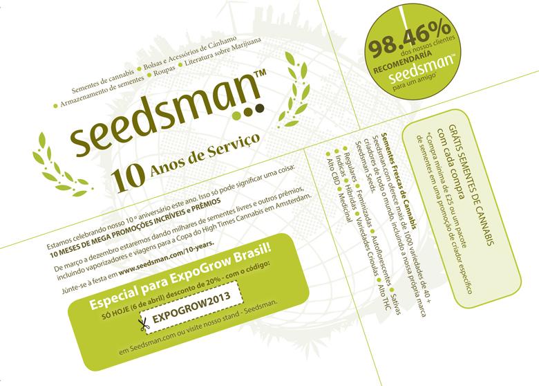 Seedsman and CBD Crew Promo Code
