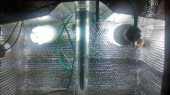 Luminaria  6 lampadas fluorescentes