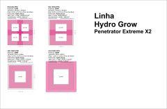 Linha Hydrogrow Led