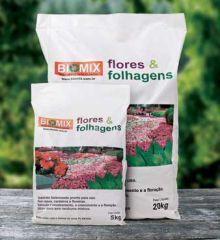 Sub flores folhagens