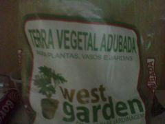 Terra vegetal adudada