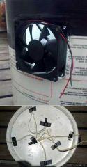 space bucket exhaust Fan