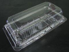 Transparent Plastic Hinge Cake Box