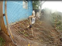sistema simples de irrigação