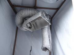 Hps 250W  e sistema de ar.