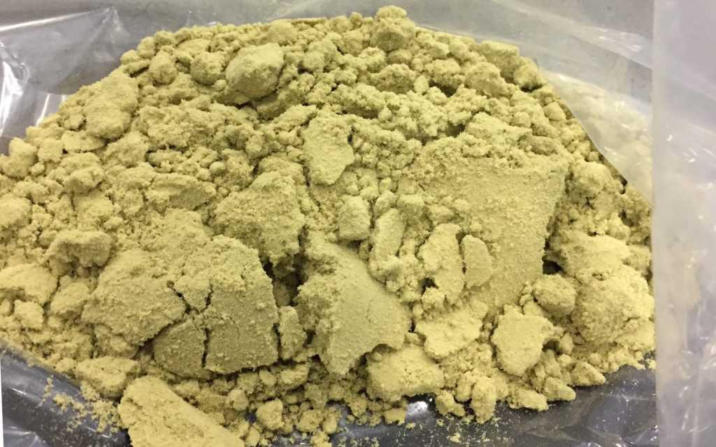 Dry Sift Extração Haxixe a seco