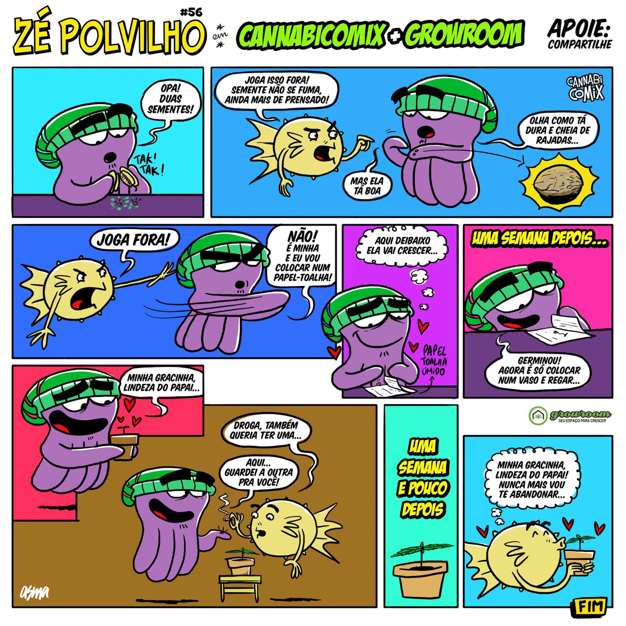 Zé polvilho do Cannabicomix