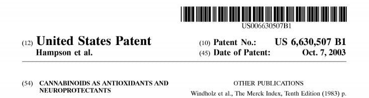 patente 6630507