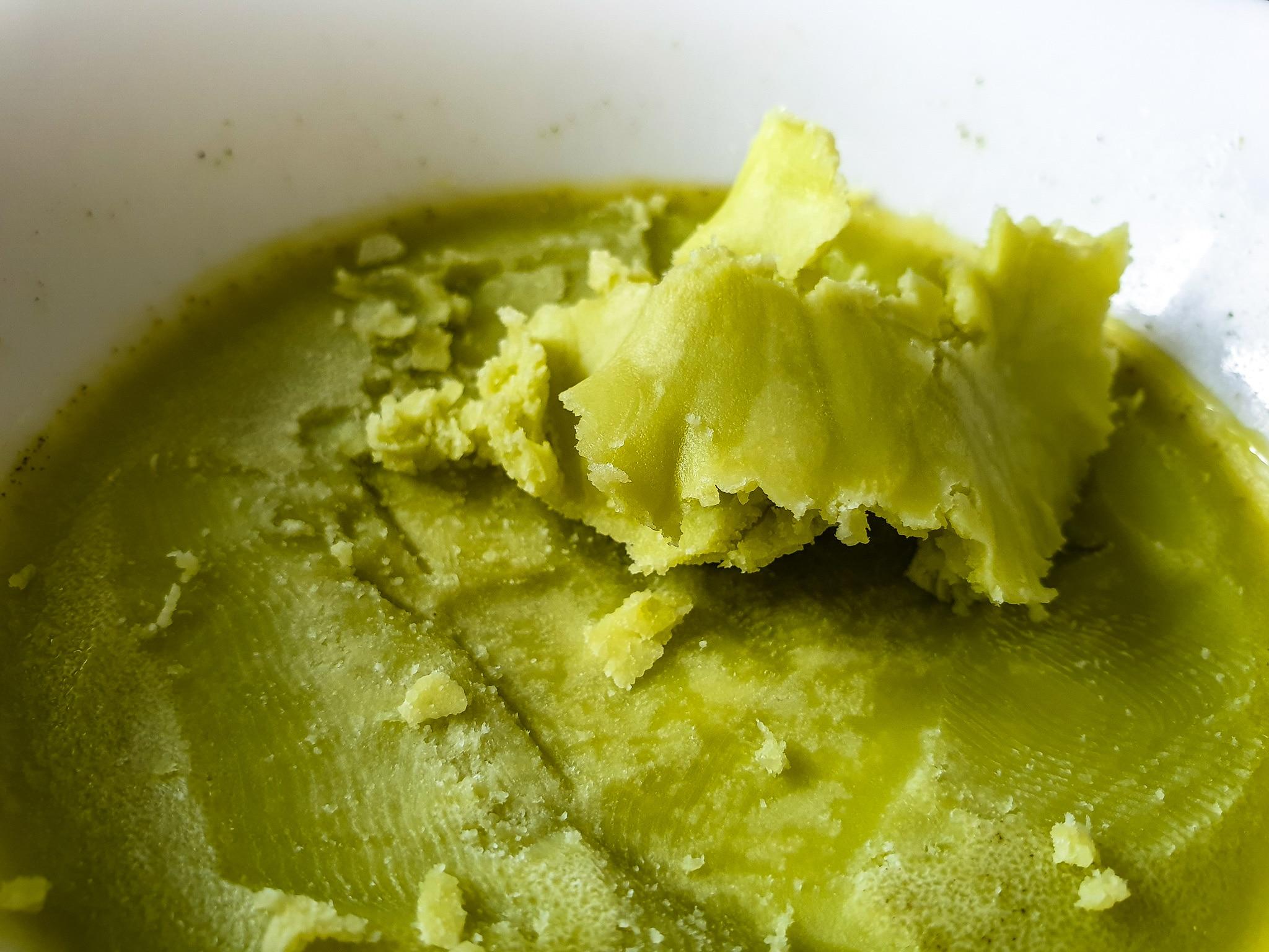 Manteiga de maconha para brisadeiro