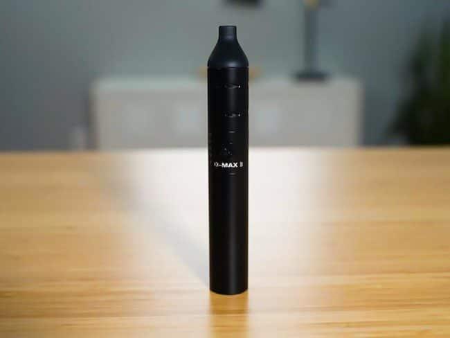 xmax II vaporizador de ervas