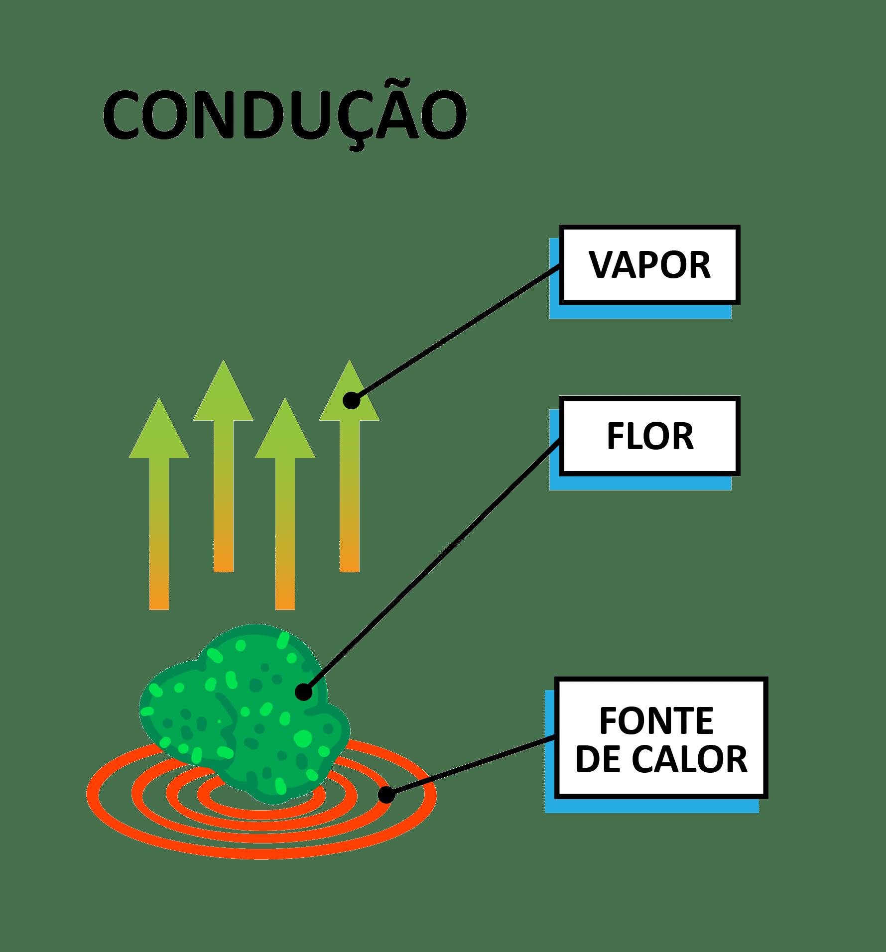 Vaporizador de Ervas - Condução
