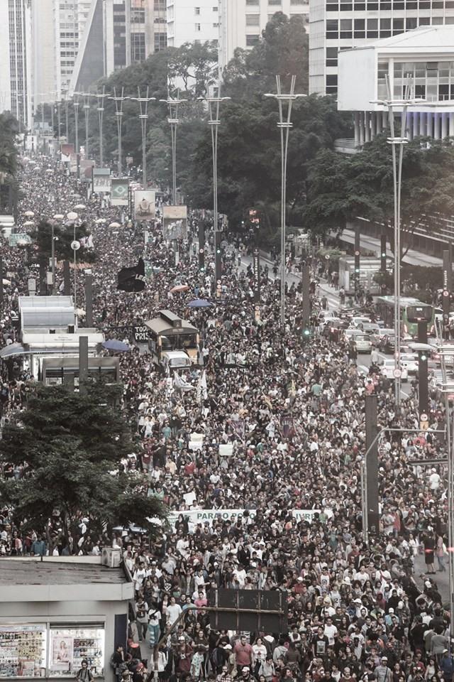 Marcha da Maconha SP2019 - Foto de Alice Vergueiro