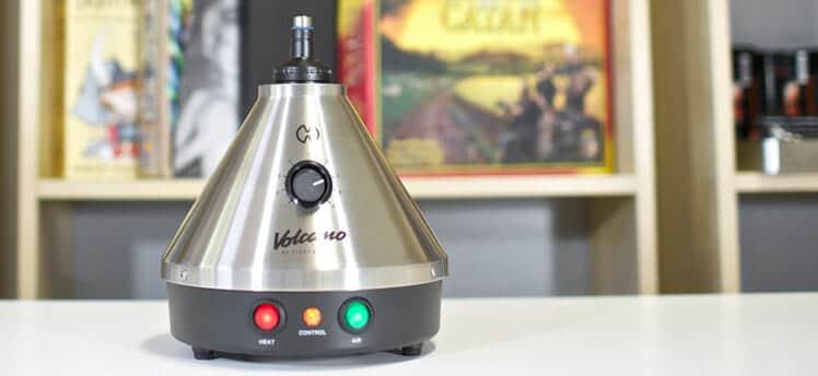 vaporizador de mesa volcano
