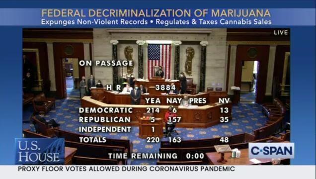 EUA descriminaliza federal
